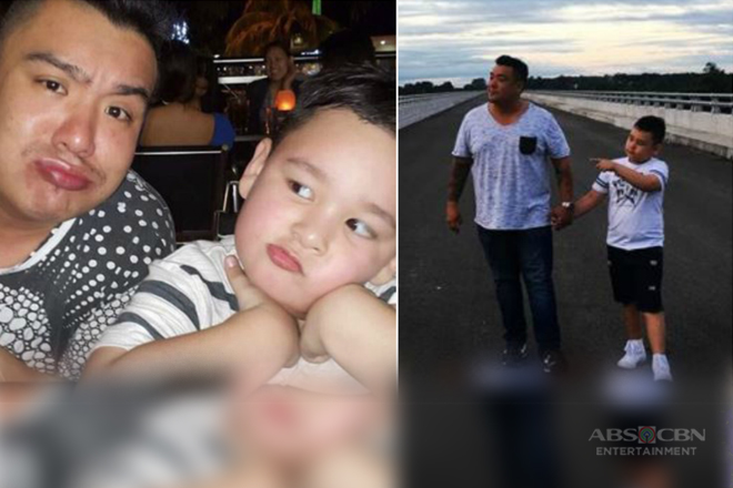 IN PHOTOS: Goin' Bulilit kid Vito with his ever supporting daddy Vandolph!