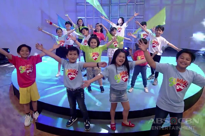 Goin' Bulilit's version of Summer Is Love Music Video