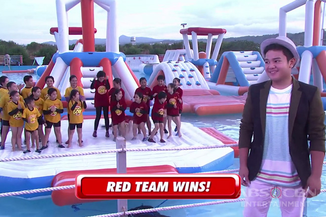 Red vs Yellow: Goin Bulilit's Go With The Float